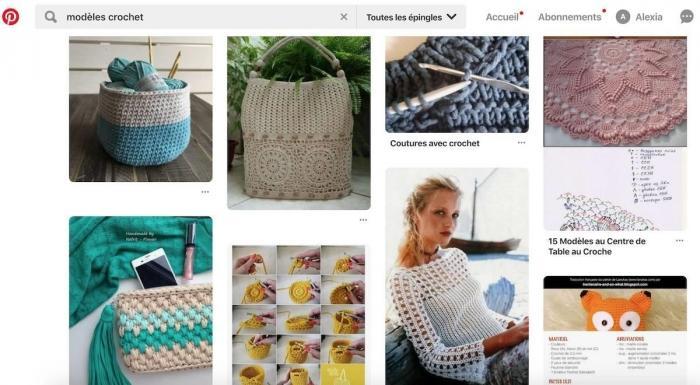comment trouver des modeles de crochet