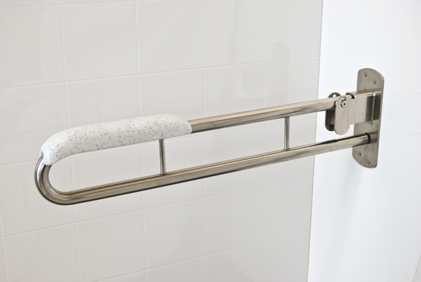 Stainless Steel Folding Drop Down Safety Rails Superquip