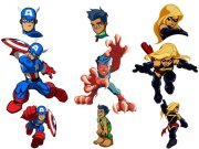 superhero squad cast cartoon