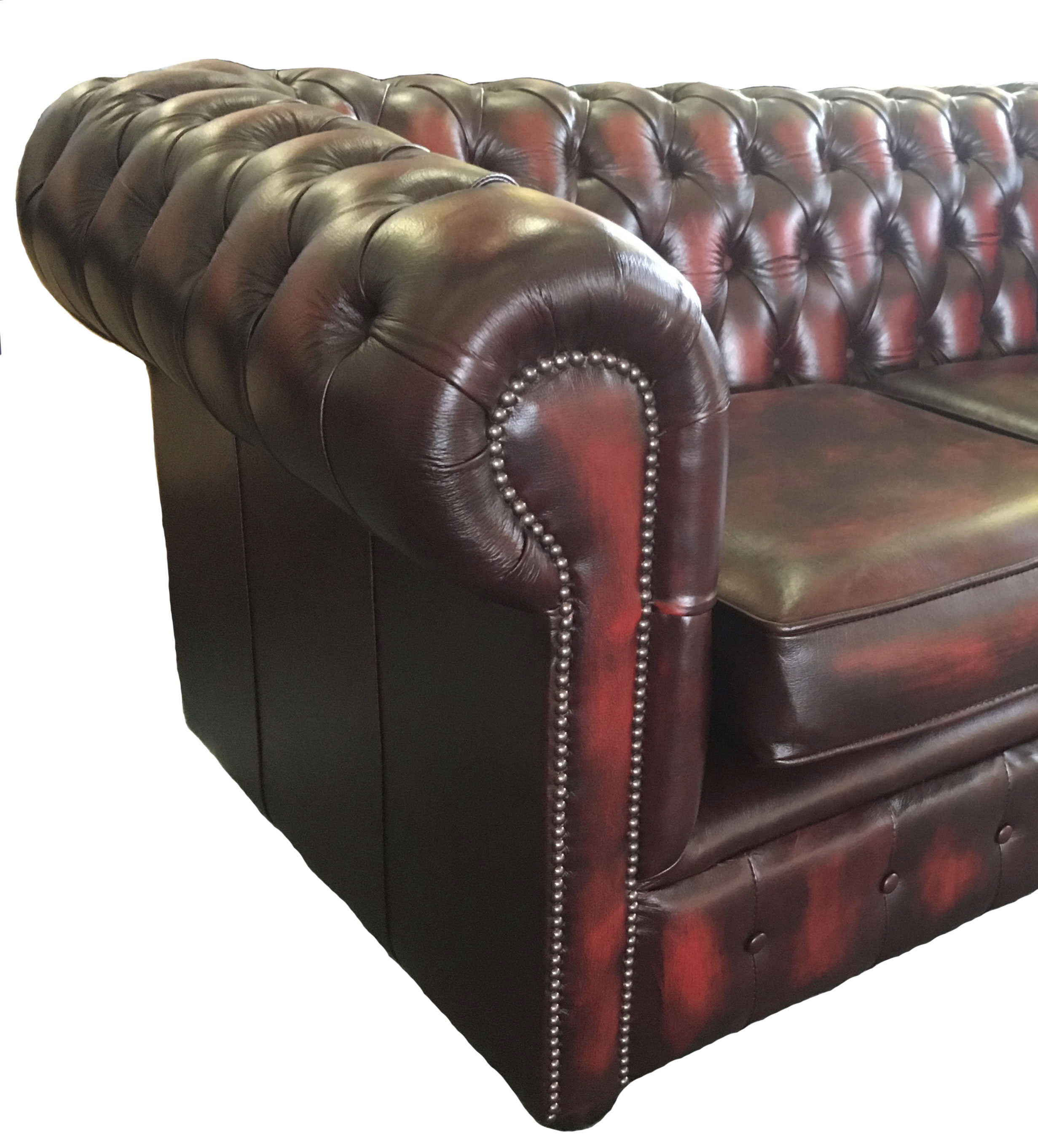 chesterfield pull out sofa bed wide sectionals traditional leather two seater