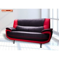 Black And Red Leather Sofa Best Small Sofas Lewis 2 Seater Faux Pu Contemporary Supersaveuk Provides An Exciting Range Of Home Furnishings Chesterfield Genuine Chairs Dining Furniture Bedroom Lots More