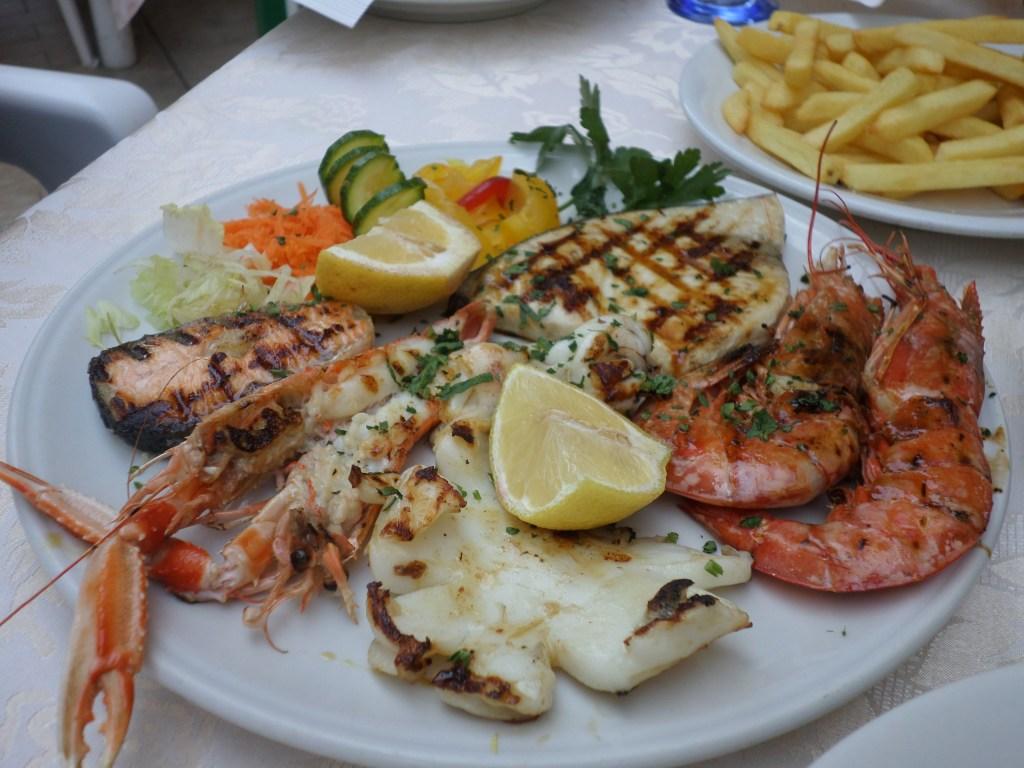 Lunch in Scalea