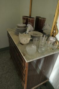 Dishes and furniture