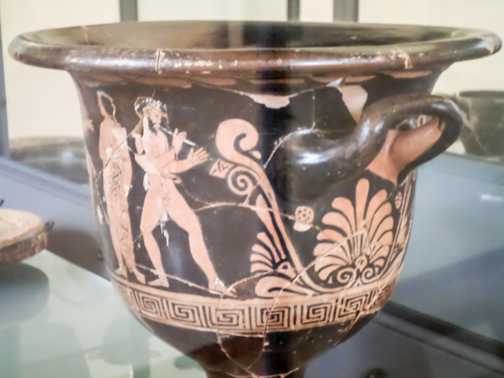 Ancient Greek vase Tortora
