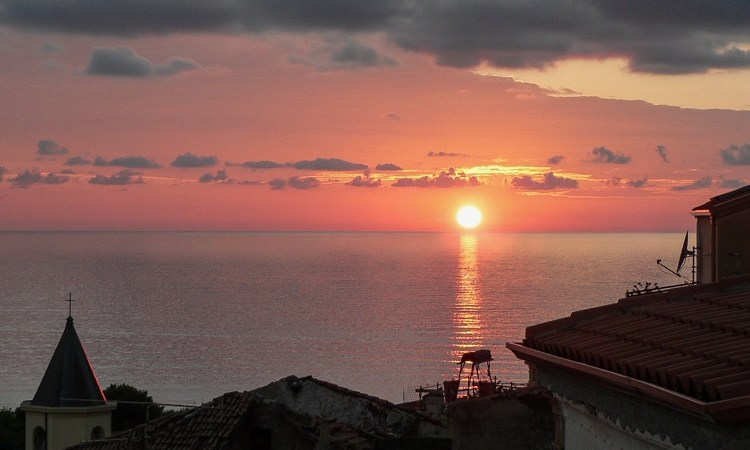 Scalea at Sunset
