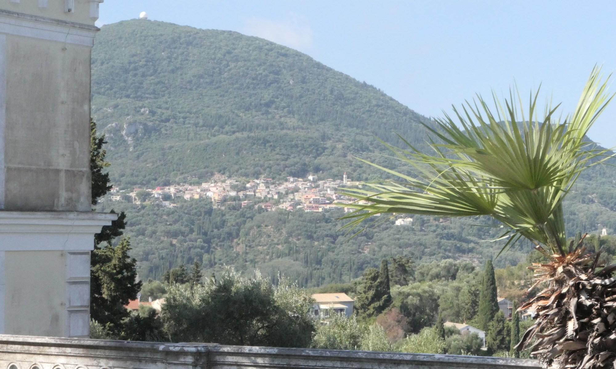 Achilion view