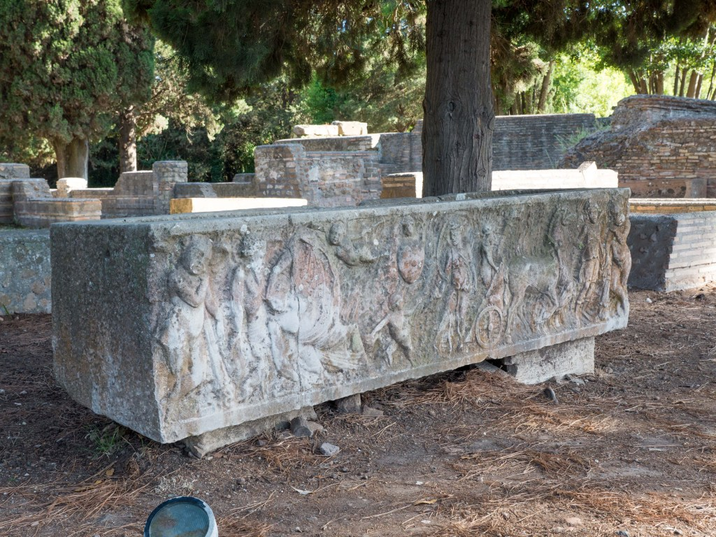 Raised Tomb in the Necropolis
