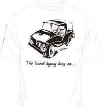 IH Scout Travelall International Custom T-Shirts