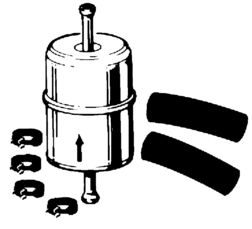 Fuel Filter (Metal) IH Gas Engines, Scout, Scout II