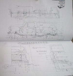 IH Service 1977 Body Builder Book, Scout II, Medium