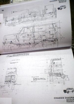 International Building Code Diagrams Ih Service 1980 Body Builder Book Scout Ii Medium