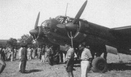 Riemerge a Sciacca un aereo della II Guerra Mondiale