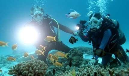 Parlare sott'acqua con la tecnologia led