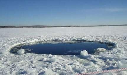 Russia: subacquei alla ricerca del meteorite