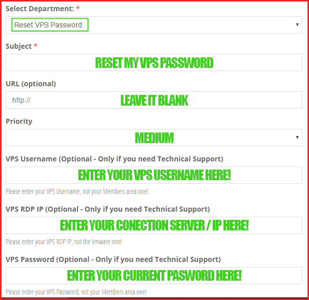 How to Change your VPS Password - Super SEO VPS