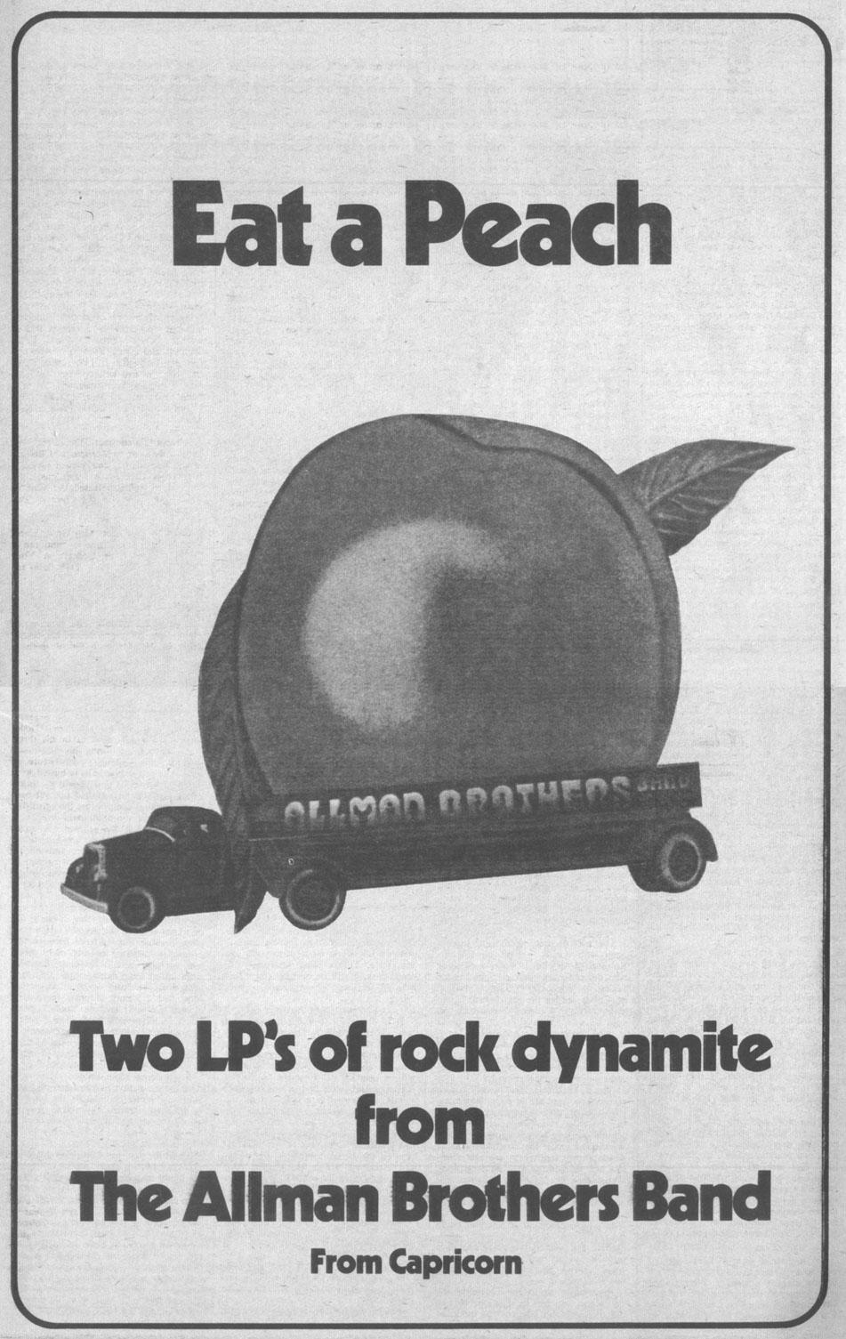 Mt Brothers Allman Jam Eat Peach
