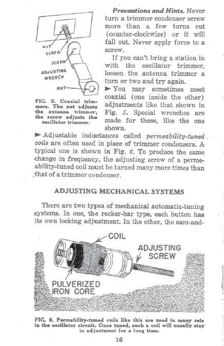 Antique Radio Servicemans Repair Home Study Course