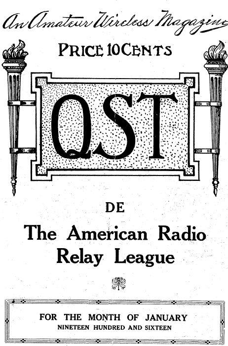 QST Magazine, Volume 1, 191 Classic Old Time Amateur Ham