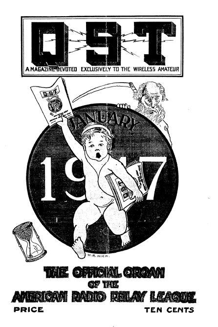 QST Magazine, Volume 1, 191 Vintage Old Time Ham Radio