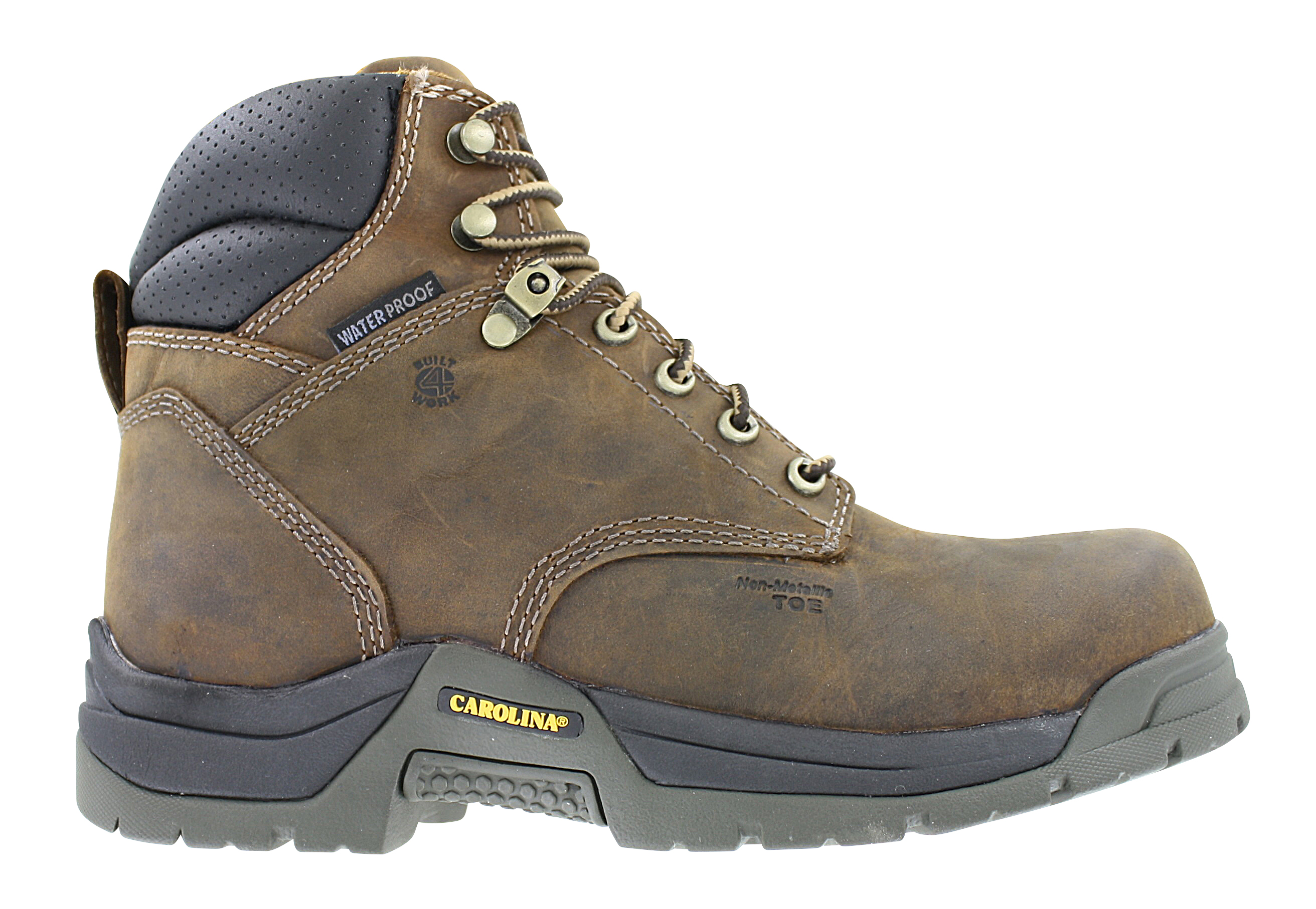 Womens Carolina 6 Composite Toe Waterproof Boot Brown