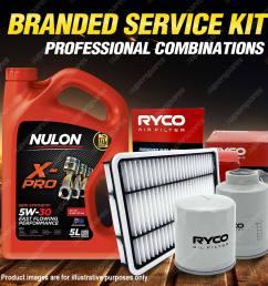 details about oil air fuel filter 5l sem5w30 oil service kit for honda crv re 4cyl 2 4l 07 12 [ 1600 x 1600 Pixel ]