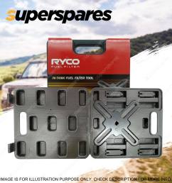 ryco intank fuel filter removal tool rst100 for toyota camry corolla rav4 tarago [ 1600 x 1600 Pixel ]