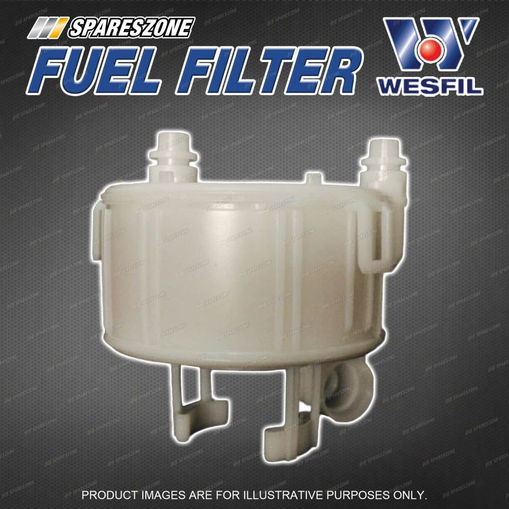 medium resolution of details about wesfil fuel filter for hyundai accent rb ix35 lm santa fe dm 4cyl refer z904