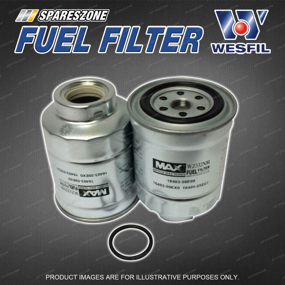 medium resolution of wesfil fuel filter for nissan urvan e24 civilian bus rgw40 ryw40 w40 elgrand e50