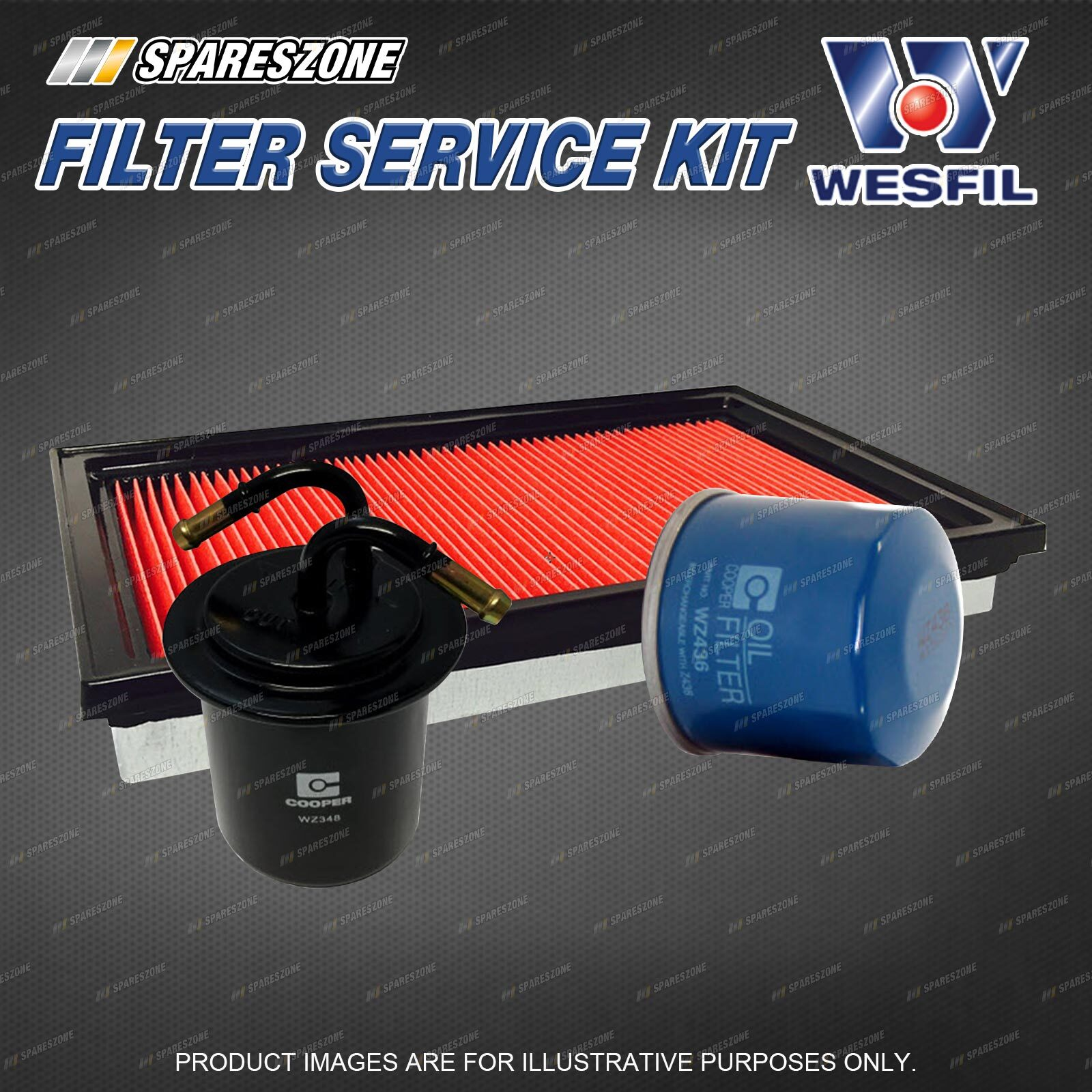 hight resolution of details about wesfil oil air fuel filter service kit for subaru forester sg9 2 5 impreza gg9