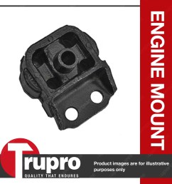 array front engine mount for daihatsu charade g11 cb 1 0l 3 cyl auto rh [ 1200 x 1200 Pixel ]
