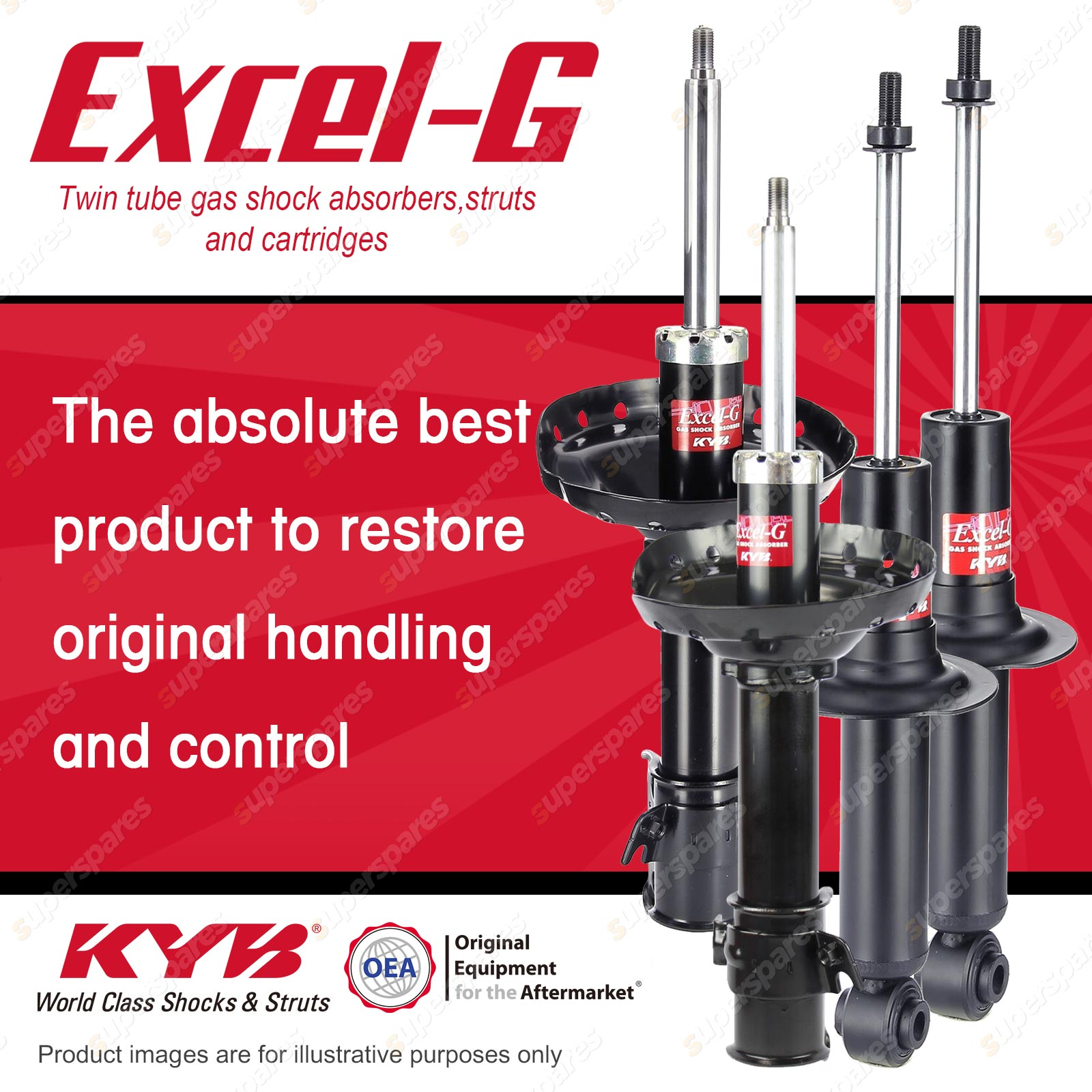 hight resolution of front rear kyb excel g shock absorbers for subaru outback bp9 ej253 2 5 f4 awd