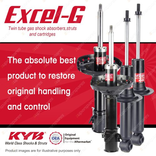 small resolution of front rear kyb excel g shock absorbers for subaru outback bp9 ej253 2 5 f4 awd