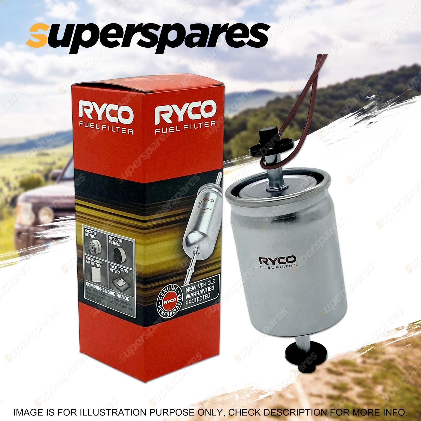 hight resolution of ryco fuel filter for toyota mr2 previa tarago spacia supra townace toyoace