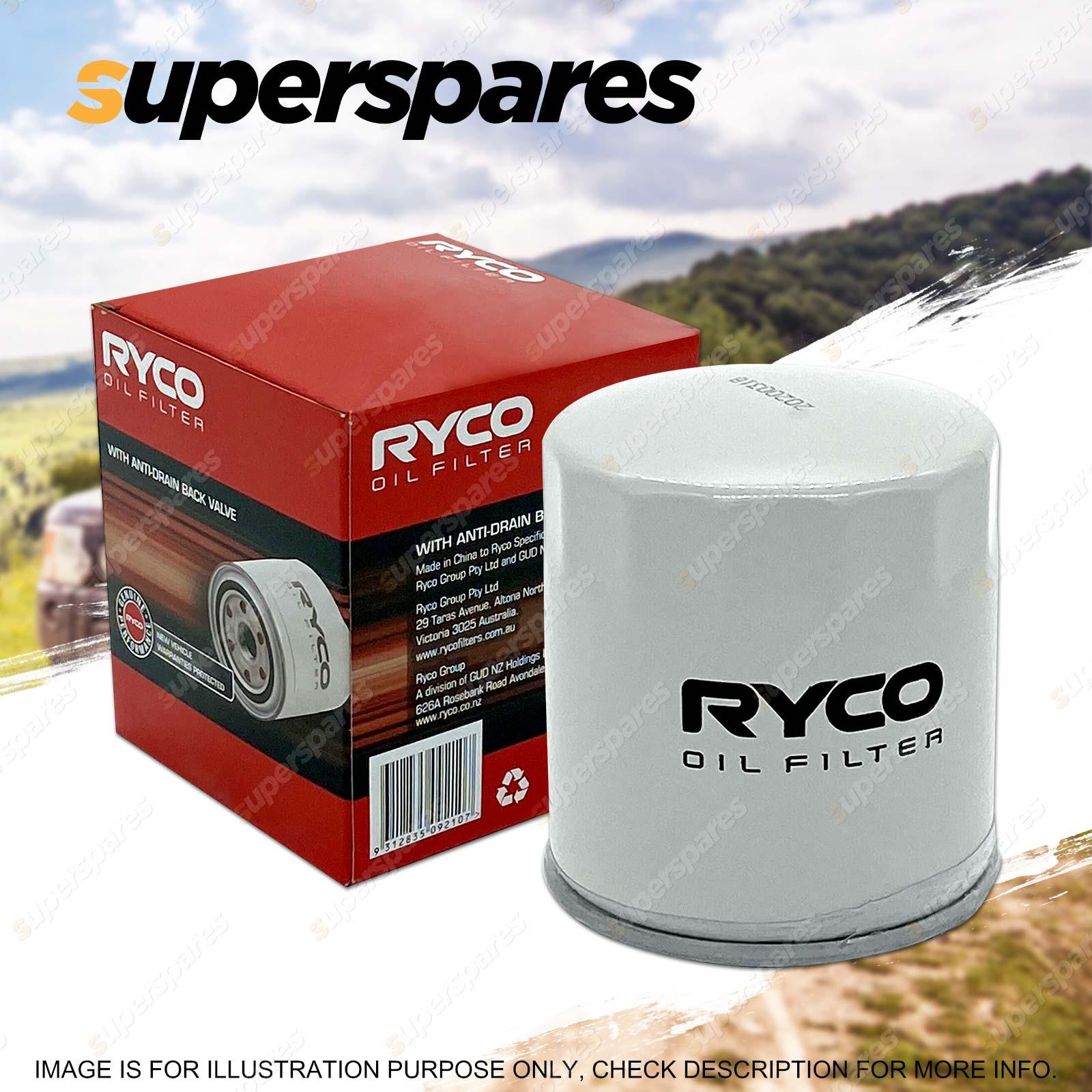 hight resolution of ryco oil filter for jeep cherokee kj xj wrangler mazda cx 9 tb series 5 tribute