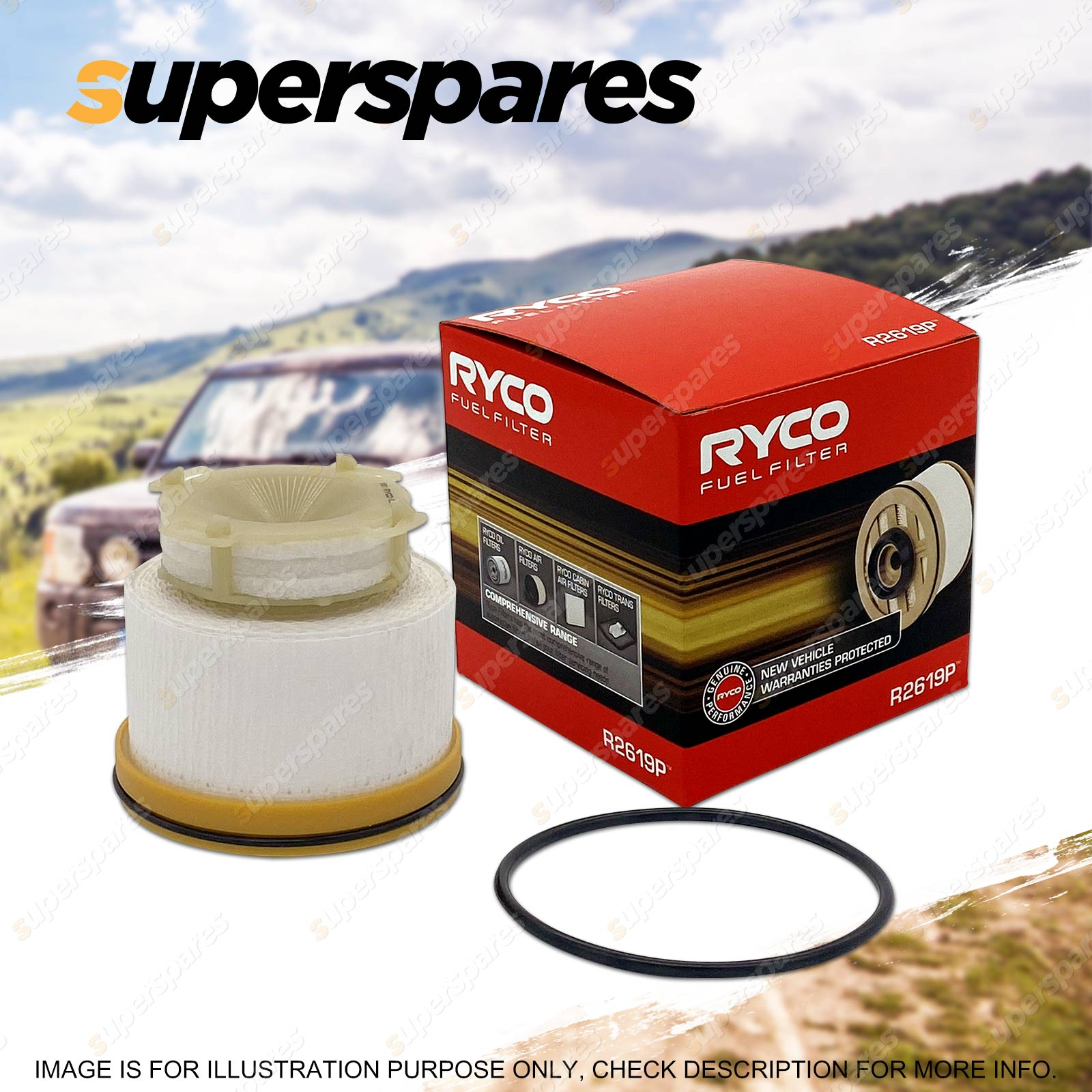 hight resolution of ryco fuel filter for toyota hiace kdh 200 201 205 220 221 222 223 225 4cyl td