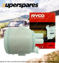 ryco fuel filter for nissan vanette serena x trail t30 t31 stagea sunny petrol [ 1600 x 1600 Pixel ]