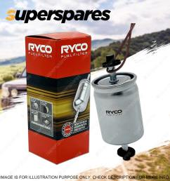 ryco fuel filter for volkswagen caddy eos golf mk iv v vi jetta polo touran [ 1600 x 1600 Pixel ]