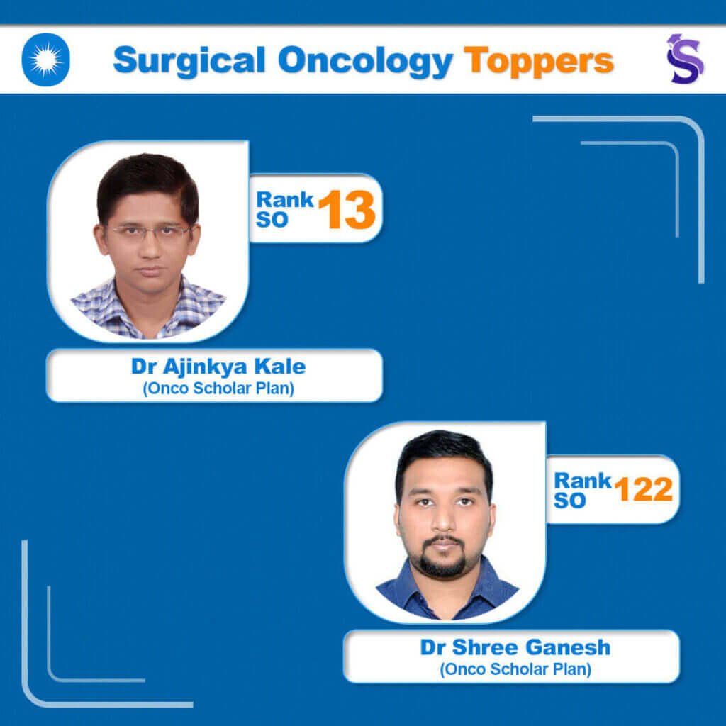 NEET Surgical Oncology 2020 Toppers