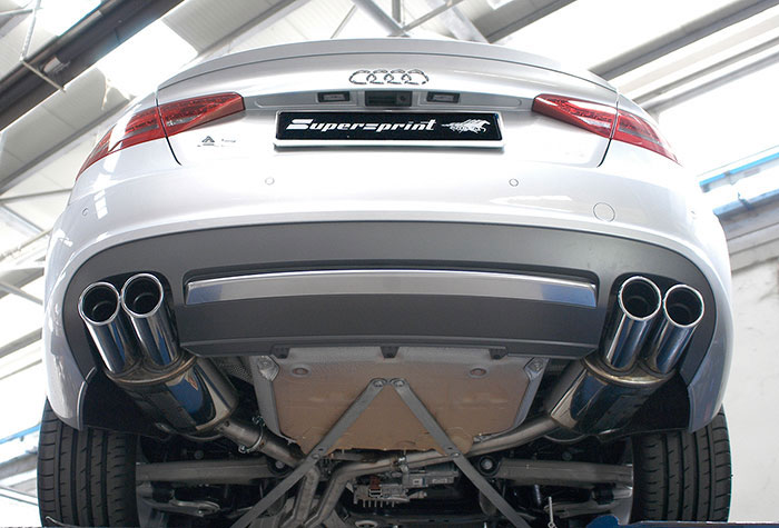 performance sport exhaust for audi a5