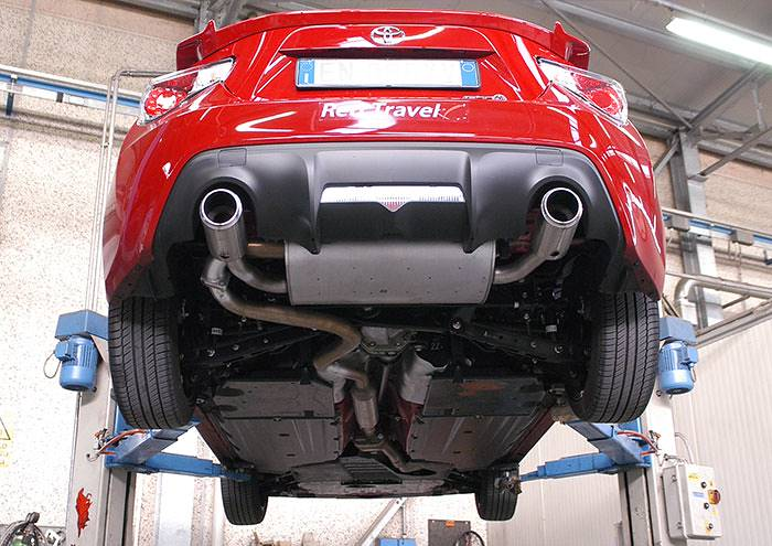 performance sport exhaust for toyota