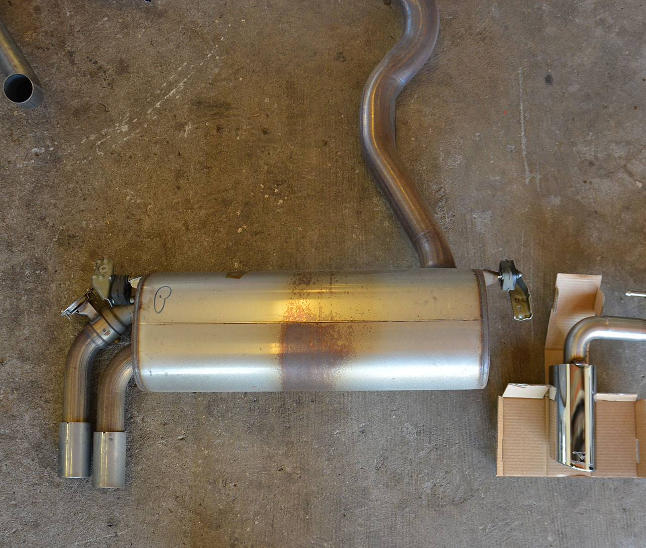 performance sport exhaust for bmw f32