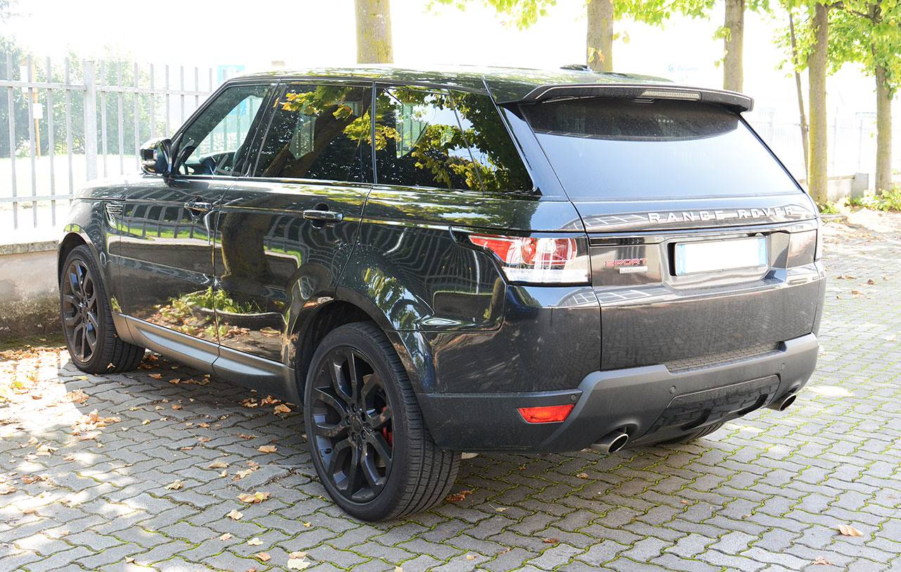 hight resolution of range rover sport mk2 l494 5 0 supercharged sport exhaust development by supersprint stock range rover sport mk2 l494 5 0 supercharged spor