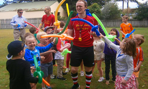 Kids Sports Birthday Parties For Ages 4 7 Years In Brissy