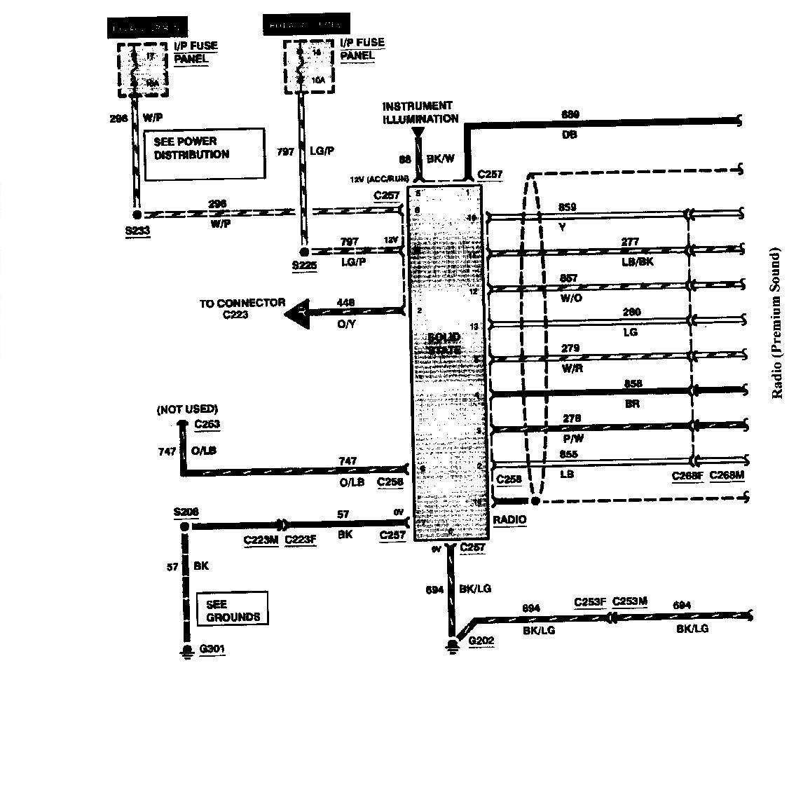 Lincoln Mark Lt Factory Radio Wiring Diagram