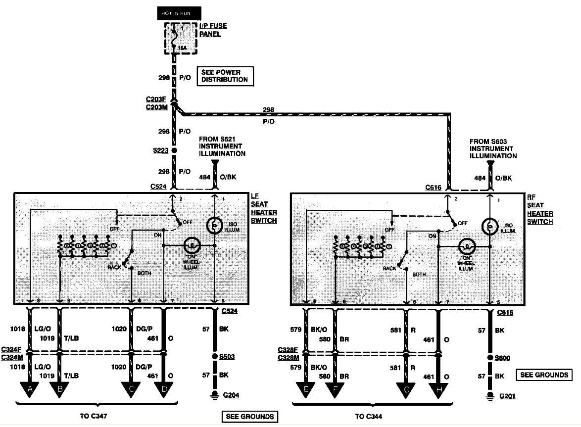 2000 chrysler sebring wiring diagram bobcat s250 alternator fuse free engine