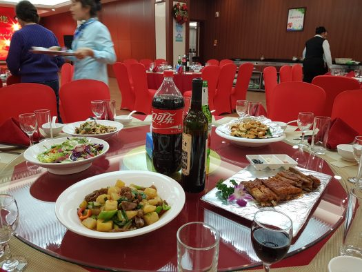 Christmas in Ningxia, China with AFO