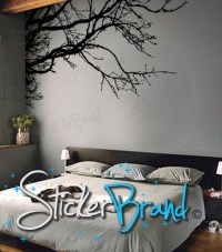"Vinyl Wall Decal Sticker Tree Top Branches 50"" X 21"""