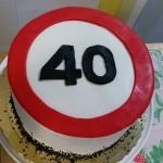 tarta personalizada señal