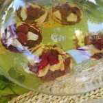 Tartaletas de frambuesa y de manzana