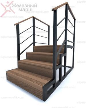 металлический каркас для лестницы для крыльца